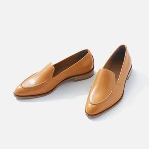 Everlane Modern Leather Loafer in Honey